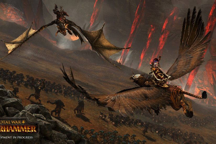 Warhammer: Total War Is An Epic Fantasy Experience totalwar wh dogfight