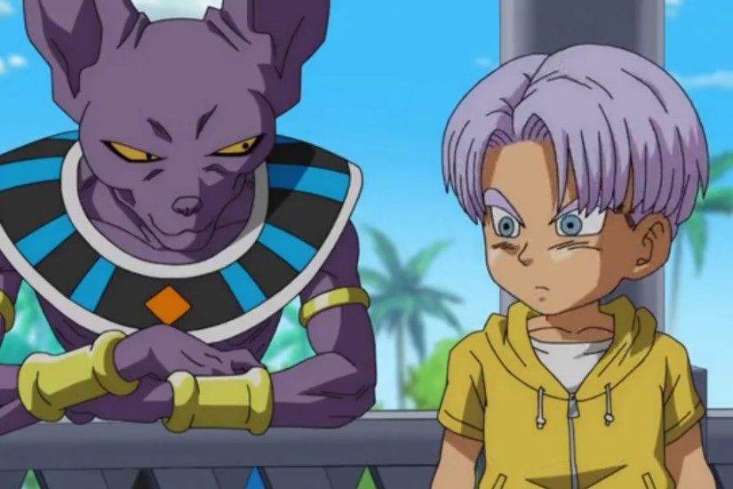 Kid Trunks Learns about Future Trunks| Dragon Ball Super Episode 49 [Eng..