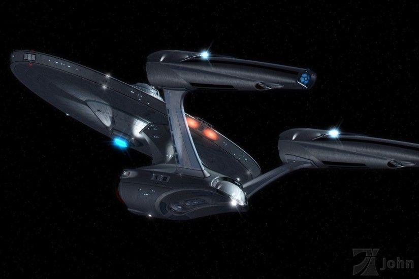 J.J. Abrams' U.S.S. Enterprise NCC-1701 (Port Stern view)