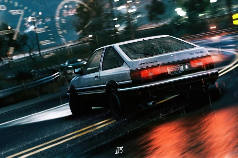 What's in the theme? This theme pack consists of several HD Initial D  wallpapers ...
