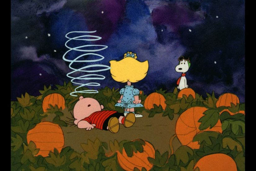 ... Great Pumpkin Charlie Brown Wallpaper - WallpaperSafari ...
