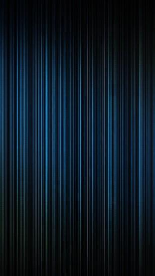 Blue Light Lines Straight Android Wallpaper