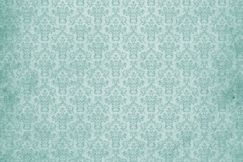Damask Vintage Background Teal