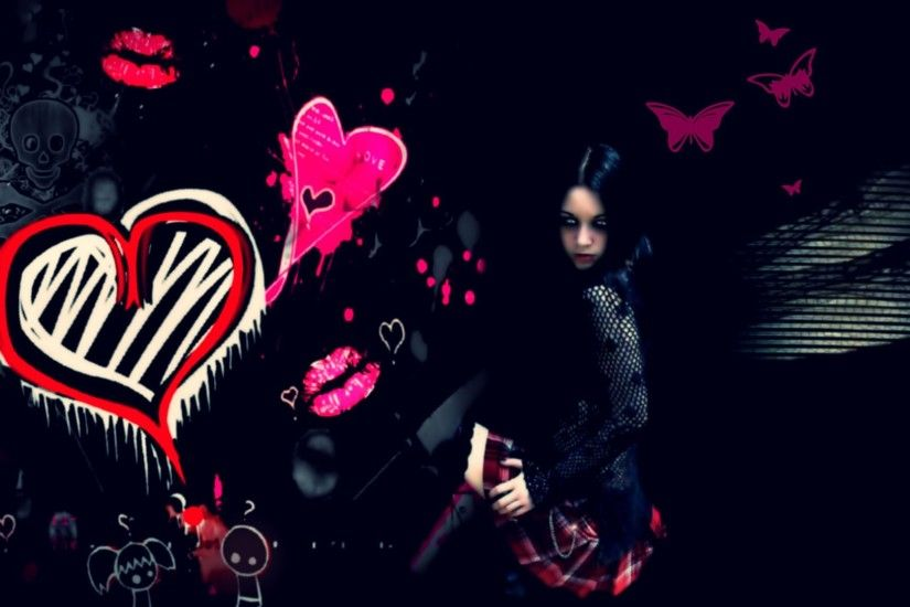 Emo Girl Wallpaper Collection For Free Download