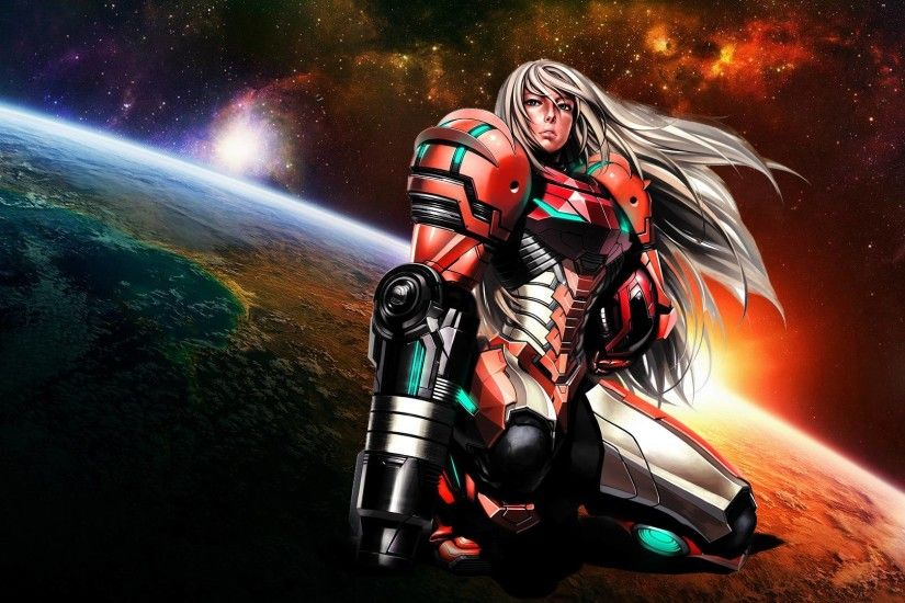 Images For > Samus Aran Zero Suit Wallpaper