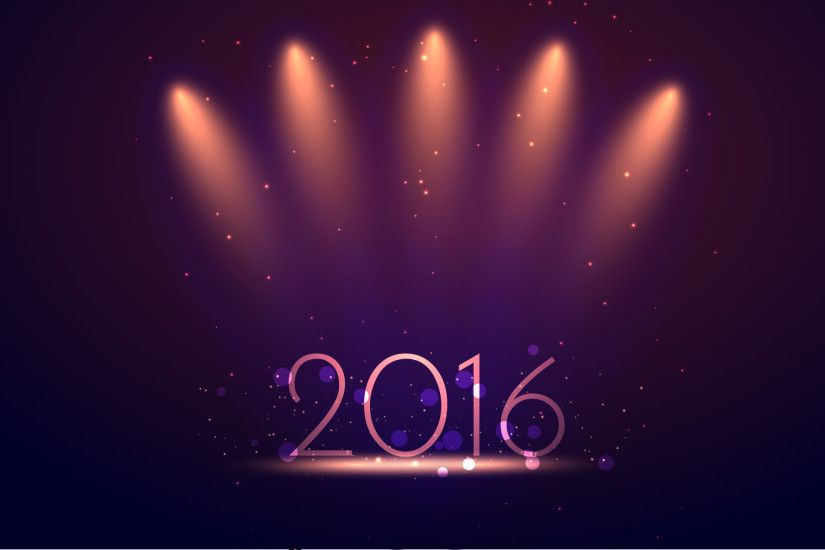 happy new year 2016 colored number on purple glitters Background high  definition wallpapers free download pc