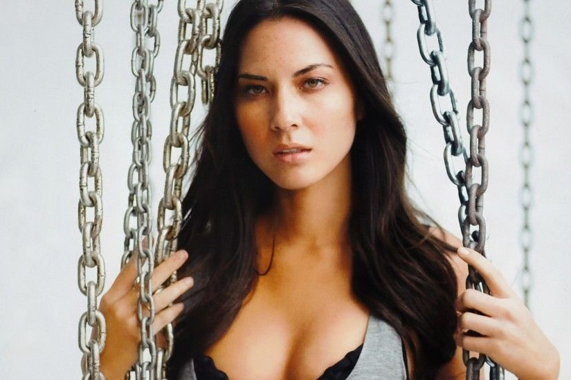 HD Wallpaper | Background Image olivia munn, brunette, freckles