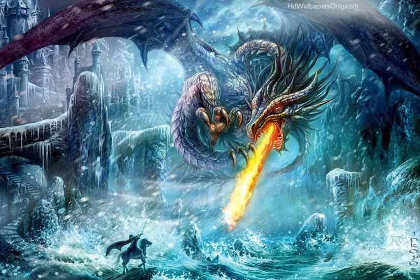 Fire Ice Dragon Wallpapers - First HD Wallpapers