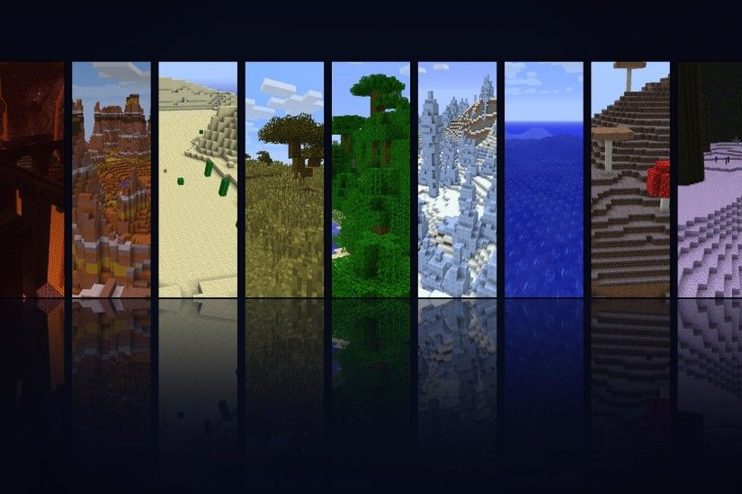 Minecraft seasons territory background ...