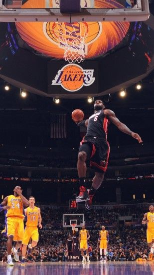 LeBron James Dunk Wallpaper HD | HD Wallpapers | Pinterest | LeBron James  and Wallpaper