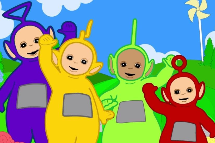 Teletubbies - Sliding Down the Hill