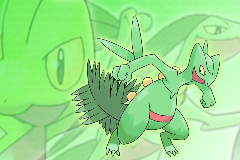 ... Grovyle, and Sceptile Wallpaper by Glench