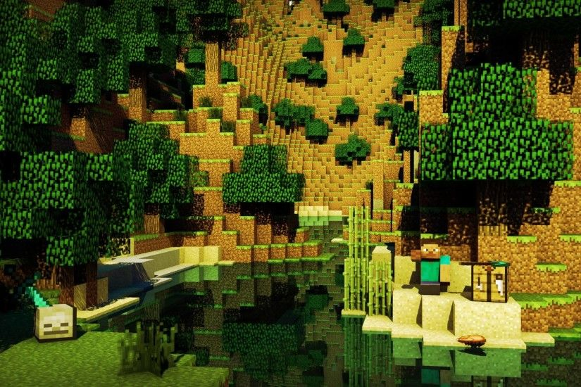 Images For > Cool Minecraft Background Hd