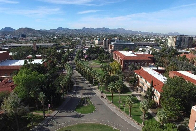 University of Arizona Aerial Tour in 4k