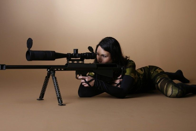 gun, Barrett .50 Cal, Camouflage Wallpapers HD / Desktop and Mobile  Backgrounds