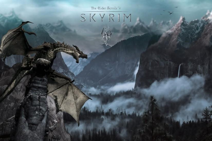 skyrim background 2880x1800 for computer