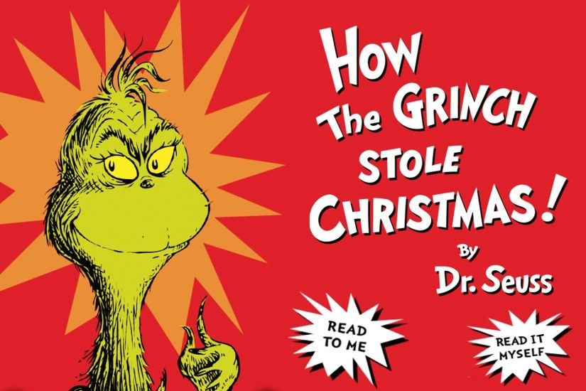 How The Grinch Stole Christmas - Cartoon Dr Seuss - Full Movie Storybook -  YouTube