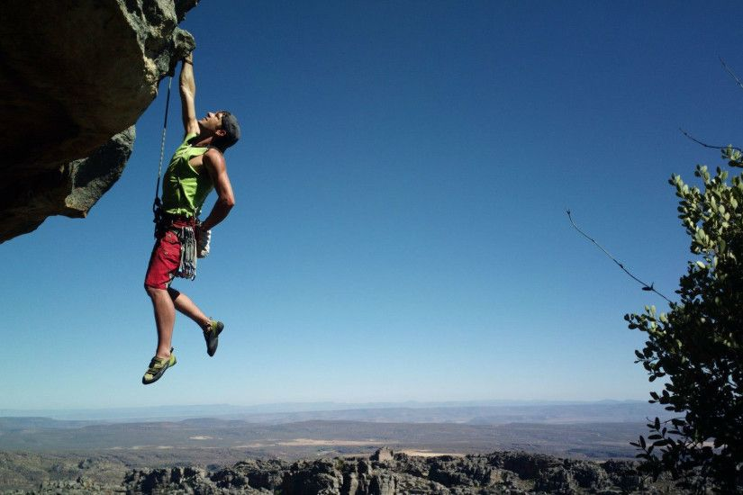 Rock climbing Adventure Sports Wallpaper