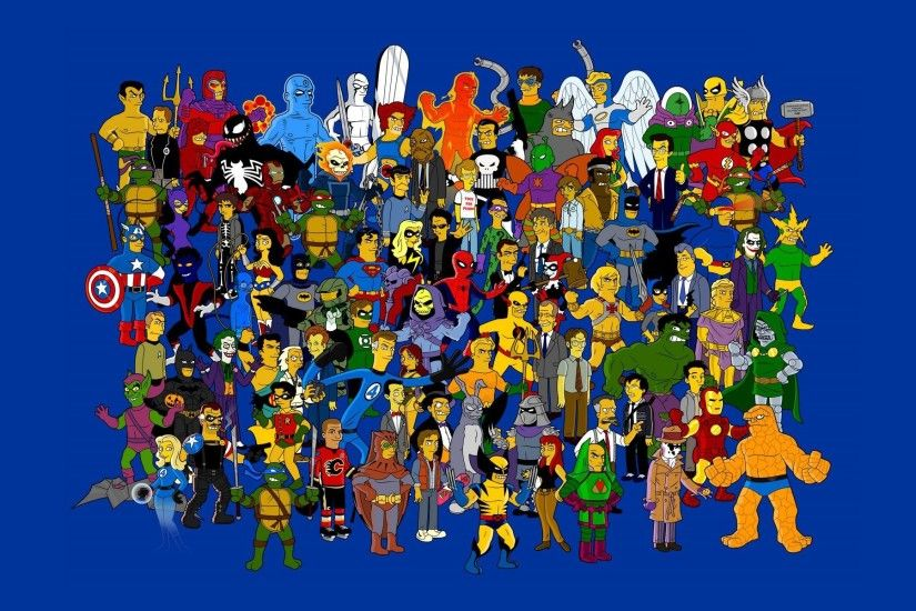 Simpsons Superheroes