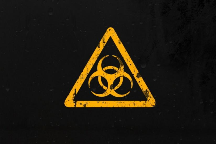 Wallpapers For > Cool Biohazard Symbol Wallpaper