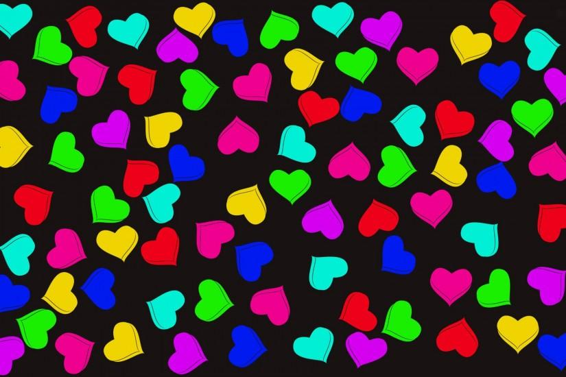 download free hearts wallpaper 1920x1200