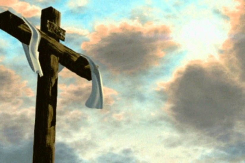 Empty Cross - Free background video 1080p HD stock video footage - YouTube