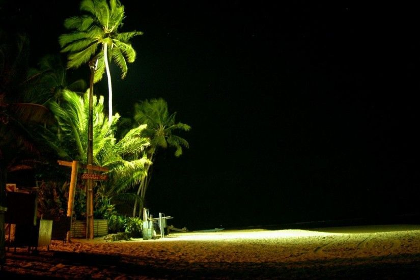 wallpaper.wiki-Beach-At-Night-Desktop-Photos-PIC-
