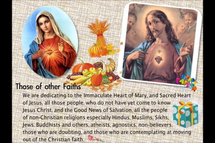 Prayer to Immaculate Heart of Mary & Sacred Heart of Jesus - part2