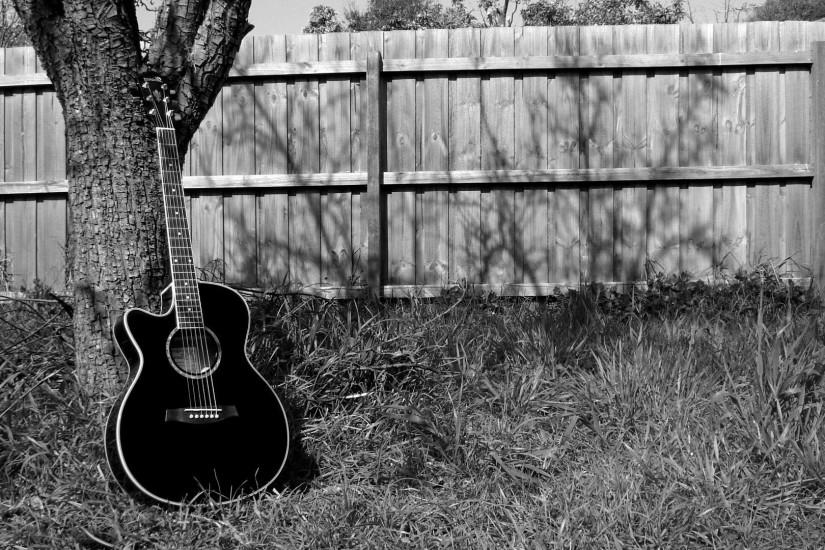 Acoustic guitar wallpaper #18470