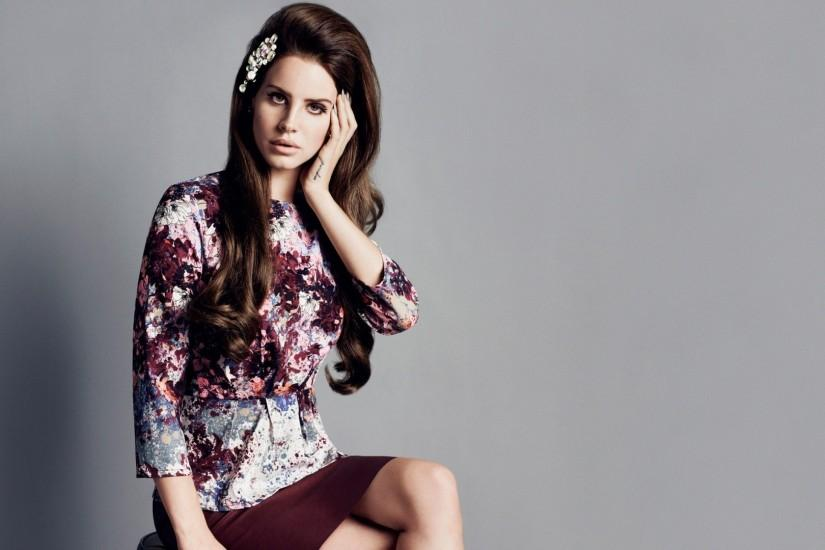 Preview wallpaper lana del rey, brunette, style, model, photo shoot  1920x1080
