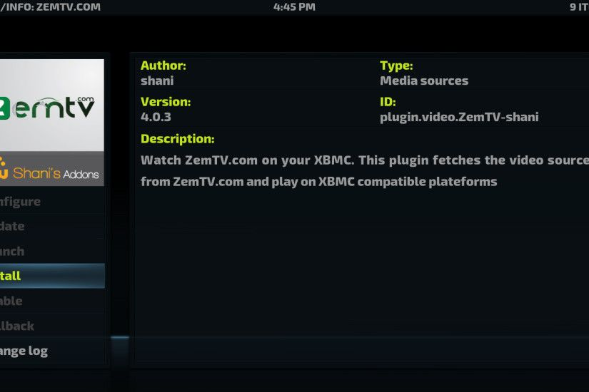 Good Afternoon Guys and Girls this blog will show you how to Install Zem TV  Kodi Addon, which has just been updated to version 5.9.3 as of today, ...