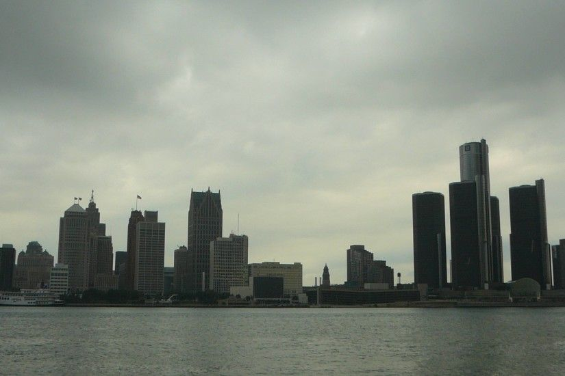 Detroit Skyline Wallpapers - Wallpaper Cave