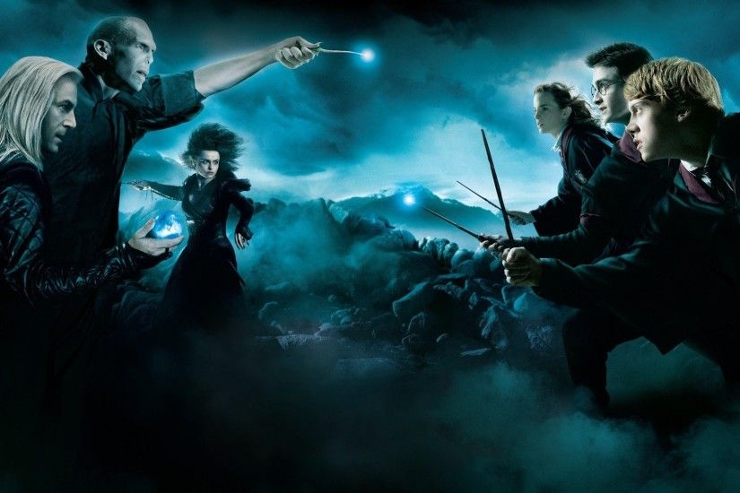 Harry Potter, Lord Voldemort, Lucius Malfoy, Hermiona Granger, Ron Weasley  HD Wallpapers / Desktop and Mobile Images & Photos