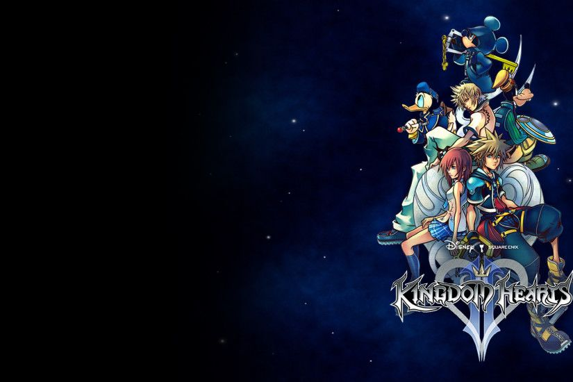 Here is a collection of Kingdom Hearts wallpapers that I compiled .