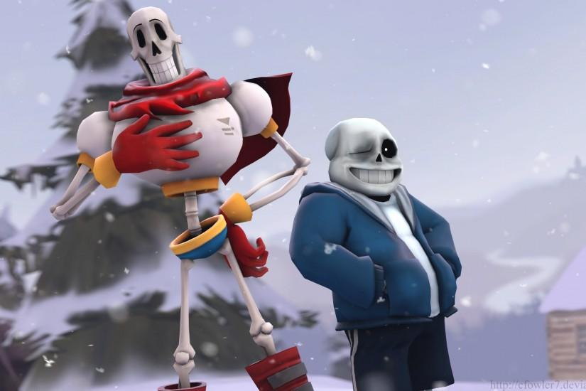 ... Undertale - Papyrus and Sans by cfowler7