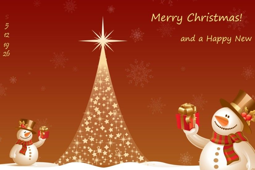 Christmas Computer Wallpaper Background
