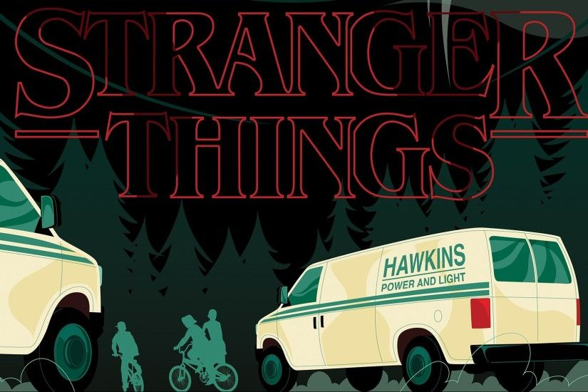 Stranger Things 1080p HD Wallpaper Background