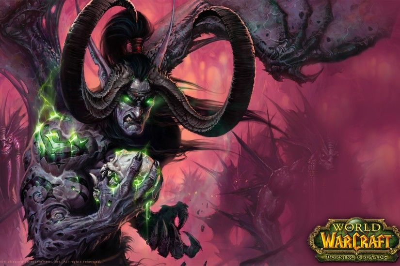 World Of Warcraft, World Of Warcraft: The Burning Crusade, Illidan  Stormrage Wallpapers HD / Desktop and Mobile Backgrounds