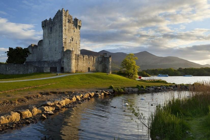 Wallpapers For > Irish Castle Wallpaper