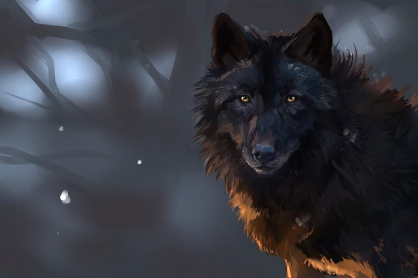 download free wolf wallpaper 3000x2000 for computer