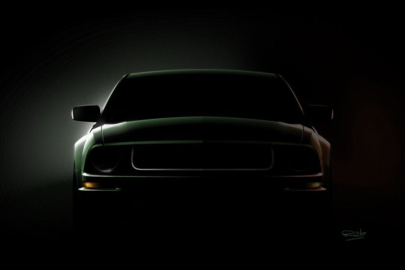 Mustang Logo Black Backgrounds. black mustang wallpapers mobile