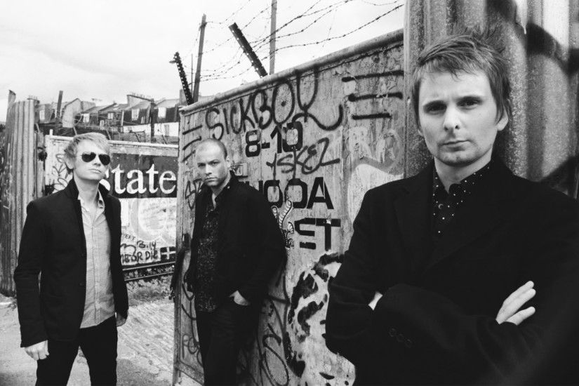 3840x2160 Wallpaper muse, band, members, suit, look