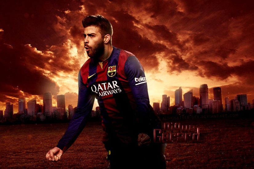 Gerard-Pique-FC-Barcelona-Club-Player-Wallpaper-1