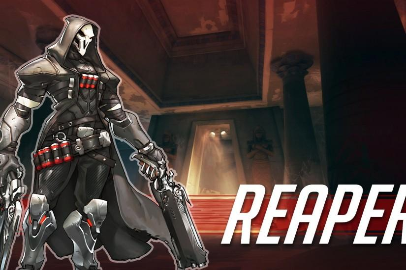 overwatch reaper wallpaper 1920x1080 for mobile