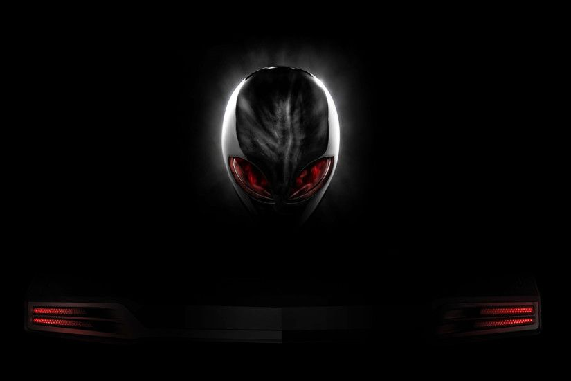 Red And Black Wallpaper 1080p Alienware red eyes logo black