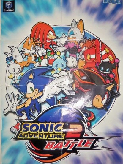... My Sonic Adventure 2 Battle Poster by bvw1979