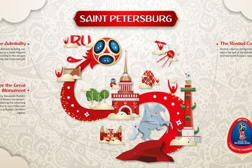 Official Look of Host Cities of World Cup 2018 in Russia - Saint Petersburg