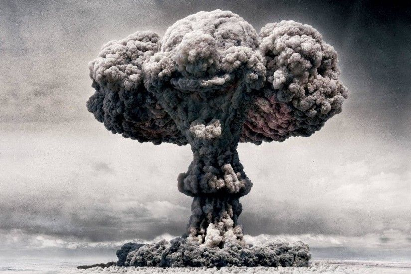 Mushroom cloud wallpaper #