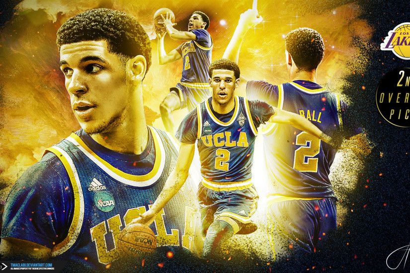 Lonzo Ball 2nd Pick 2017 1920x1080 Wallpaper