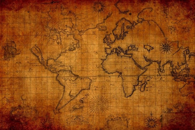 World Map Wallpapers High Resolution - Wallpaper Cave within Map Of The  World Hd ...